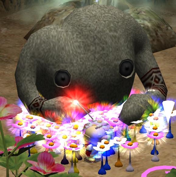 The Mamuta just wants peace.