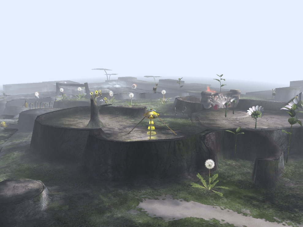 That's why they call this town Silent Pikmin.